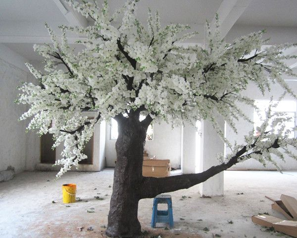 Artificial White Cherry Blossom Tree DWAF002