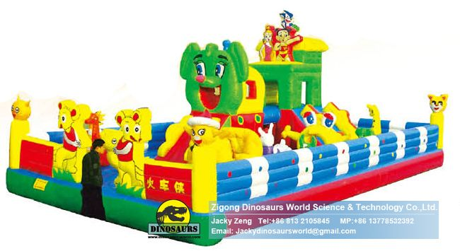 happy castle,inflatable water slide,hello kitty inflatable bouncer DWK146A