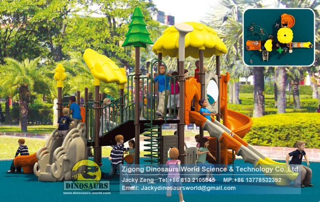 Outdoor playground equipments DWP008A