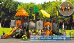 Amusement park equipments Outdoor playground DWP006A