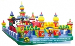 Giant jumping castle,inflatable amusement park, inflatable castle DWK145B