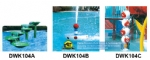 Water park ,aquatic toy,swimming pool toys DWK104A,B,C