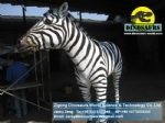 Playground Animatronic robotic Animals model zebra DWA119